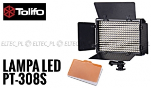 Lampa Panelowa LED 5600K, model Tolifo PT-308S