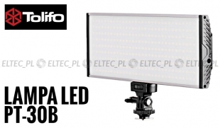 Lampa Panelowa LED 3200-5500K, model Tolifo PT-30B