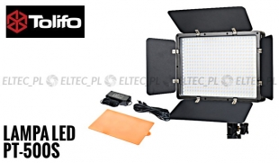Lampa Panelowa LED 5600K, model Tolifo PT-500S