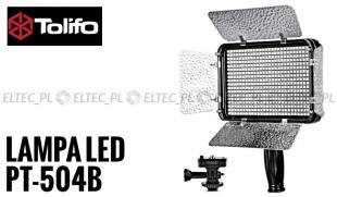 Lampa Panelowa LED 3200-5600K, model Tolifo PT-504B