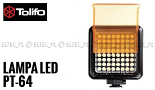 Lampa LED 5300K, model Tolifo PT-64