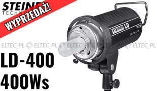 WYPRZEDAŻ Lampa błyskowa o mocy 400Ws, model LD-400 (Bowens)
