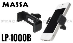 Uchwyt samochodowy do smartfona na kratkę wentylacji (LP-1000B)