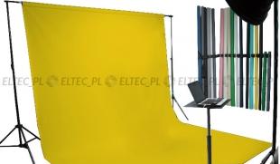 Tło kartonowe 2,72 x 11m na tulei / kolor nr. 169 MARIGOLD żółte