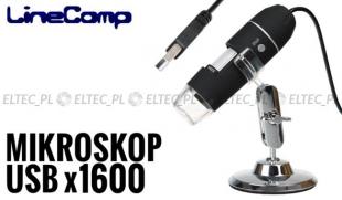 Mikroskop cyfrowy USB przybliżenie x1600 2mpx