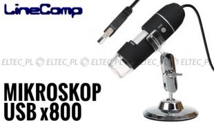 Mikroskop cyfrowy USB przybliżenie x800 2mpx