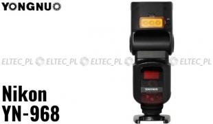 Lampa błyskowa Yongnuo YN-968N iTTL do Nikon