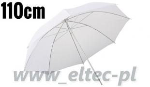 Parasolka rozpraszająca biała 110cm