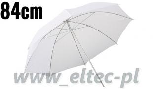 Parasolka rozpraszająca biała 84cm
