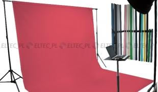 Tło kartonowe 2,72 x 11m na tulei / kolor PASSION PINK różowe