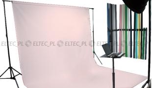Tło kartonowe 2,72 x 11m na tulei / kolor nr. 117 PASTEL PINK różowe