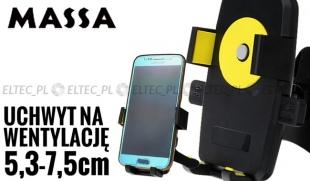 UCHWYT SAMOCHODOWY do smartfona na kratkę wentylacji (P8)