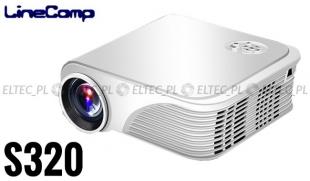 Projektor, rzutnik do komputera 800x600 S320