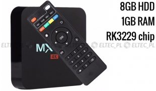 TV BOX MXQ PRO 4K rk3229 1/8 gb