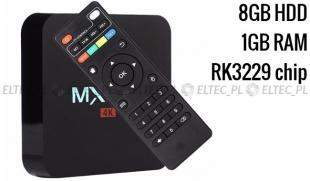 TV BOX MXQ PRO 4K rk3229 1/8 gb