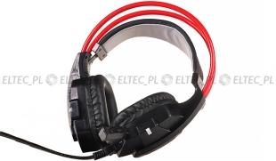 Słuchawki gamingowe dla graczy z mikrofonem RS71
