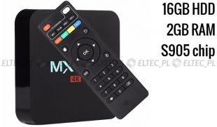 TV BOX MXQ PRO 4K s905x 2/16 gb