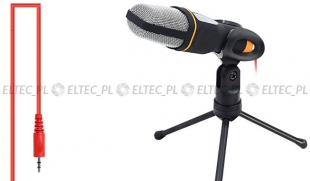 Mikrofon screamer z mini statywem, model SF-666