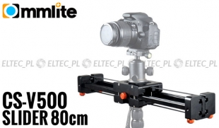Slider przesuwny  kamerowy VIDEO 80cm (łożyskowy), CS-V500 - WYPRZEDAŻOWY