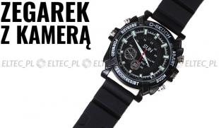 Kamera zegarek naręczny 1080P 16GB