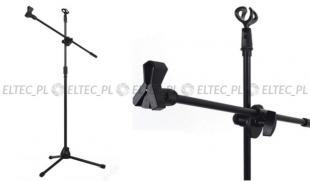 Statyw podłogowy na mikrofon 182cm, model ST11
