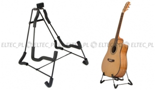 Statyw na gitarę niski (35cm) - model LIGHT, cienkie nogi
