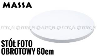 Stół fotograficzny obrotowy 60cm, 360 stopni