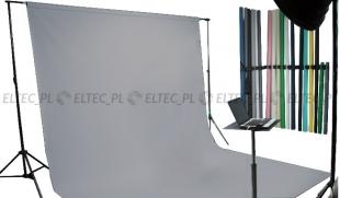 Tło kartonowe 2,72 x 11m na tulei / kolor nr. 170 STONE GRAY szare