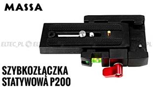 Płytka szybkozłączka statywowa P200
