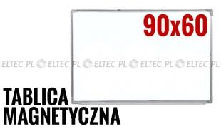 Tablica suchościeralna magnetyczna 90x60