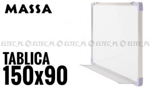 WYPRZEDAŻ 30% - Tablica suchościeralna magnetyczna 150x90