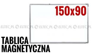 WYPRZEDAŻ - Tablica suchościeralna magnetyczna 150x90
