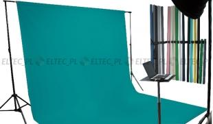 Tło kartonowe 2,72 x 11m na tulei / kolor nr. 157 TEAL zielone