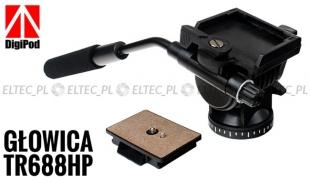 Głowica statywowa video TR688HP, 360 stopni