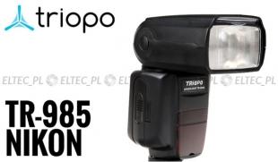 Lampa błyskowa Triopo TR-985N Nikon TTL HSS