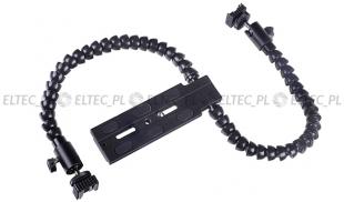 Uchwyt elastyczny 2 ręce do akcesoriów fotograficznych