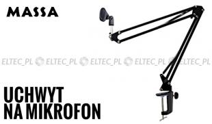 Ramię wysięgnik do mikrofonu, składany 32-92cm