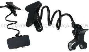 Uchwyt do telefonu, smartfona z KLIPSEM - długie ramię (P4)
