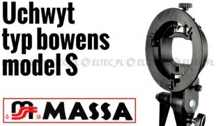 Uchwyt mocowanie BOWENS S do lamp błyskowych SHORT