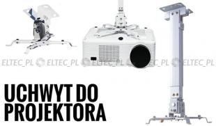 Uchwyt wieszak na projektor aluminium 14-100cm