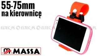 Uchwyt samochodowy do telefonu, smartfona na kierownicę (P6)