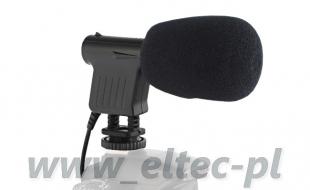 Mikrofon pojemnościowy STEREO, model BY-VM01