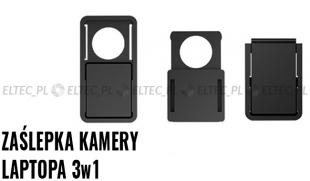Zaślepka kamery laptopa 3szt - różne rozmiary