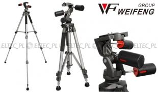 Statyw foto/video 154cm z zaawansowaną głowicą 3D, model WF6307
