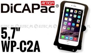 Etui, futerał wodoodporny do smartfona i iPhone, DICAPAC model WP-C2A