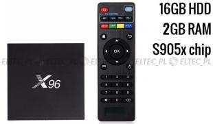 TV BOX x96 4K s905x 2/16 gb