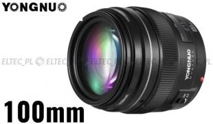 Obiektyw stałoogniskowy YONGNUO 100mm f/2 do Nikon