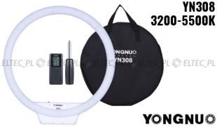 Lampa pierścieniowa LED Yongnuo YN-308 3200-5500K
