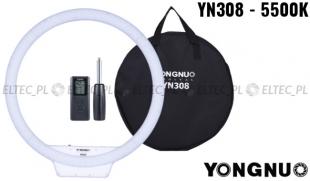 Lampa pierścieniowa LED Yongnuo YN-308 5500K