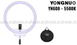 Lampa pierścieniowa LED Yongnuo YN-608 5500K